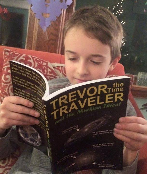 Trevor the Time Traveler and the Murkian Threat